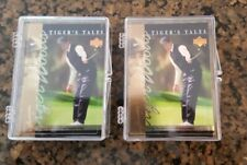 New listing 2 set Lot - 2001 Tiger Woods Rookie Card cards Tiger Tales 30 card sets