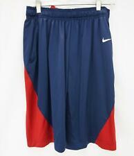 Nike Dri-Fit MLB Boston Red Sox Baseball Athletic Shorts Red/Blue Men's Medium