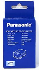 Panasonic VW-VBT190E-K Lithium-ion Camcorder Battery Pack 3.6V 1940mAh 7Wh
