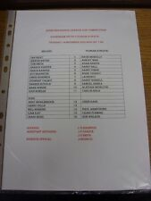 19/12/2002 Rotherham United riserve V Oldham Athletic riserve [Avon assicurazione