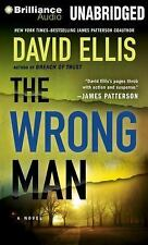 THE WRONG MAN unabridged audio book on MP3 CD by DAVID ELLIS (12 Hours)