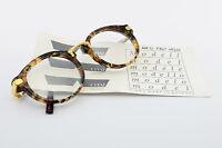 CHAI Brille No. 4.1 AM 12 F847 46[]20 130 Vintage Eyeglasses Frame Men Tortoise