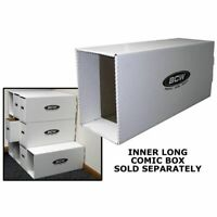 NEW (10) BCW LONG COMIC DRAWER HOUSE WITH INNER SUPPORT/ NO LONG BOXES INCLUDED