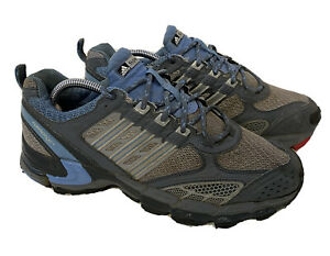 Adidas Supernova Formotion Gray and Blue Womens Athletic Running Shoes Size 10