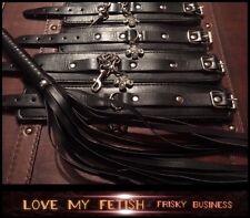 bondage kit ankle cuffs whip gag restraints fetish 5* High quality Hardwearing