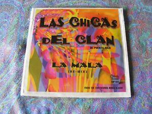 """Las Chicas Del Clan De Puerto Rico """"La Mala"""" CD Promo In N/M-. On Caiman Records"""