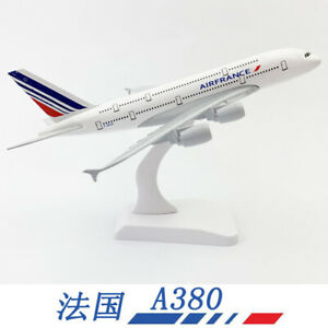 1:400 French A380 airplane model solid alloy static decoration model airplane