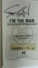Scott Ian Signed Anthrax Autograph Proof COA I Am The Man Book a