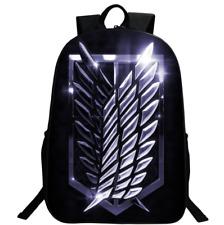 Anime Attack on Titan Backpack Boys Girls School bag Student Shoulders Bag Gift