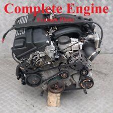 BMW Series 1 3 E87 E90 118i 318i 129hp SOLO MOTOR n46b20b Correa Nueva Garantía
