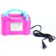 600w Portable Electric Balloon Blower Inflator Pump Ac110-120v Low Noise Fast