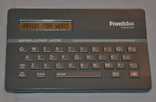Mint! Working! Franklin Computer - Apelling Ace (Check) 1980's - Model #SA-98