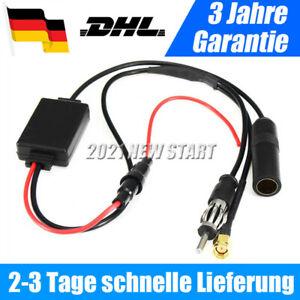 DAB + Antenne Splitter Radio Adapter FM Antennenverstärker Und Frequenzweiche