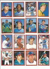 1982 O-Pee-Chee Baseball Sticker Steve Comer #242 Texas Rangers *MINT*