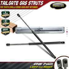 2x Tailgate Gas Strut for Toyota Corolla ZZE120 02-07 Hatch back Conquest Ascent