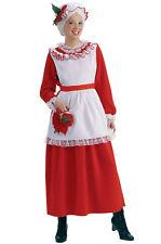Brand New Classic Christmas Mrs. Santa Claus Adult Costume
