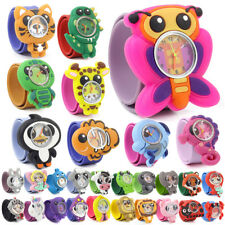 Wacky Watches Kids child's children's Animal Zoo Pet Snap On Slap Band Character