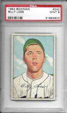 1952	Bowman	Billy	Loes	240	PSA 9		Dodgers		672
