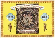 Nicaragua Blocco 156 (completa Edizione) usato 1984 Morte di Coreggio