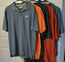 Golf Polo Shirts - Size XL - Lot of 5 - Various Brands