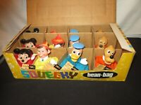 WALT DISNEY GUND SQUEEKY TOY FACTORY SAMPLE MICKEY MOUSE PINOCCHIO DONALD