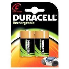 Batterie ricaricabili Duracell C per articoli audio e video