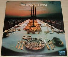 GEORGE BEVERLY SHEA THE KING IS COMING ALBUM 1972 RCA VICTOR LSP-4782