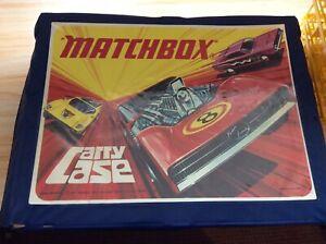MATCHBOX Vintage CARRY CASE & 4 Plastic Trays