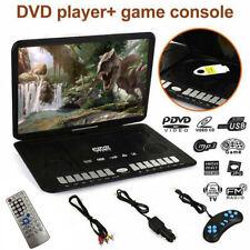 "13.9"" Portable Dvd Player Hd Cd Tv Player 16:9 Lcd Widescreen Card Reader Us Hot"