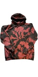 The Weeknd After Hours XO Red Dye Hoodie - L