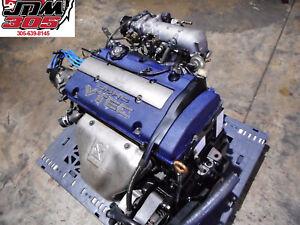 98-02 HONDA ACCORD SiR 2.3L BLUE TOP DOHC VTEC ENGINE JDM H23A