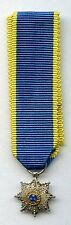 Latvian Order of the 3 stars (1924-1940) Grandcross breaststar miniature Latvia