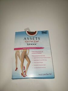 Spanx Assets Red Hot Label Super Control Sheers Pantyhose Hosiery Sz 3/C Barest