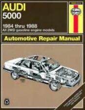 Haynes Audi 5000 1984 Thru 1988 : All 2WD Gasoline Engine Models  automobile