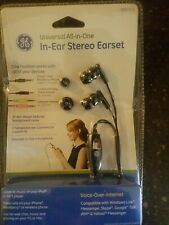 98733 GE Univeral All-in-One Black In-Ear Stereo Earset