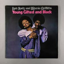 "Bob Andy & Marcia Griffiths - Young, Gifted and Black - UK 12"" Vinyl - TBL-122"