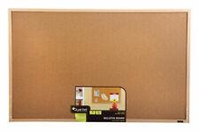 Cork Bulletin Board with Oak Frame, 23 x 35-In.
