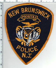 New Brunswick Police (New Jersey) Shoulder Patch - new from the 1980's