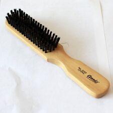 Wood Handle Hair Brush Soft Wild Boar Bristles Gentle Bass for Very Fine Hair