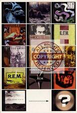 R.E.M. Fanclub Postcard UP October 26th 1998