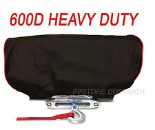 Waterproof Winch Dust Cover Driver Recovery 8,000 to 17,500 lbs capacity Red 4R