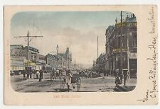 South Africa, West Street Durban 1906 Postcard, B015