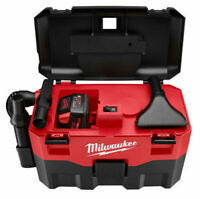 Milwaukee 0880-20 Cordless 18 Volt Wet / Dry VAC Vacuum New - Bare Tool Only