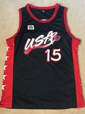 USA Basketball Jersey Hakeem Olajuwon Dream Team 92 96 Large FREE SHIP NIKE