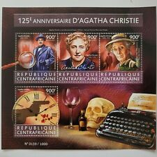 Central African Rep 2015 /Anniversary of the Birth of Agatha Christie, 1890-1976