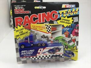 BILL ELLIOTT #9 MELLING RACING CHAMPIONS TEAM TRANSPORTER 1991 MIP