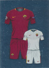 Champions League 17/18 - Sticker 213 - Home / Away Kit - AS Roma