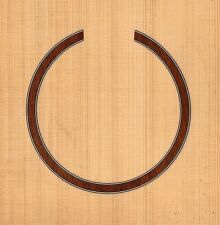 Acoustic, Guitar Rosette,Sound Hole, Waterslide Decal/Sticker (Hb-284)