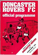 DONCASTER ROVERS  V SCUNTHORPE UTD   4TH DIVISION  11/4/77