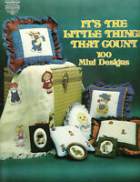 It's The Little Things That Count 100 Mini Cross Stitch Patterns ornaments kids